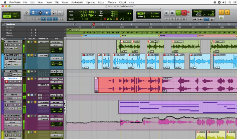 voice over software Pro Tools